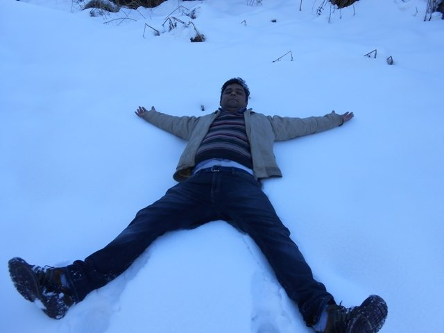 Fun time in Snow