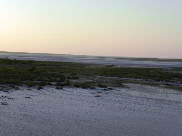 Vast Marsh Land behind the Fort