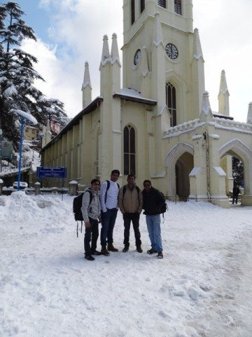 We all in front of main Church