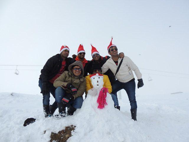 Snowman, Gulmarg