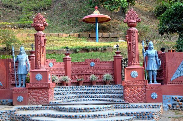 Agnigarh Hill Entry