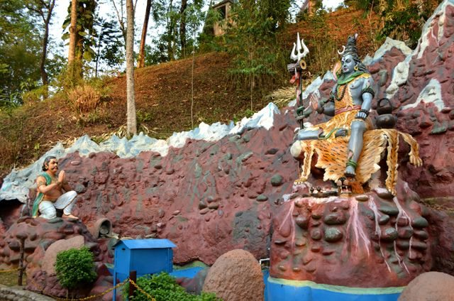 Statue of Lord Shiva at Agnigarh