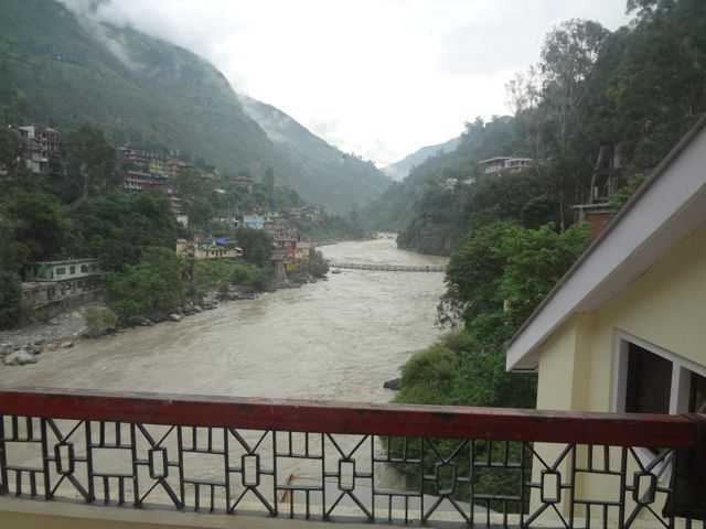 View from Rampur Hotel Room