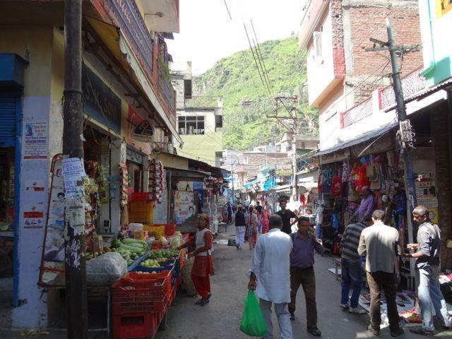 Bustling market of Rampur