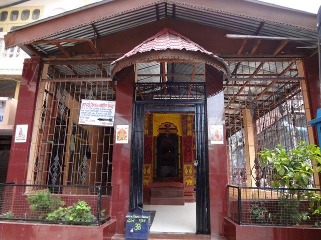 Temple of Deity in Rampur market