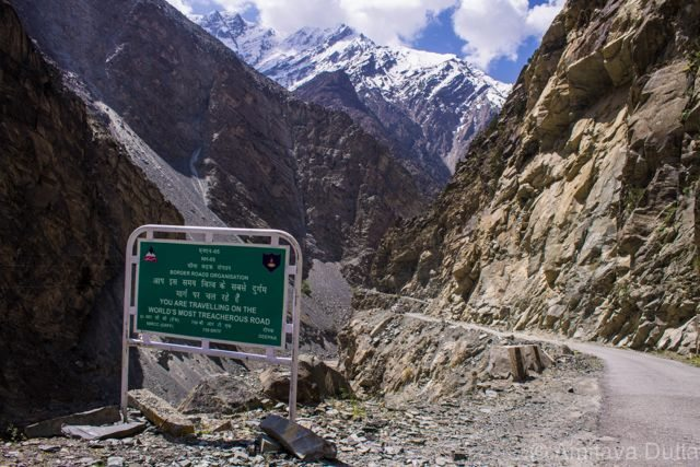 The most treacherous road of the world