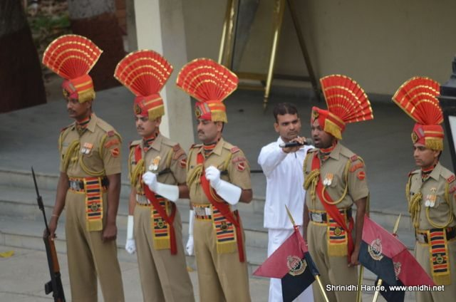Indian soldiers band