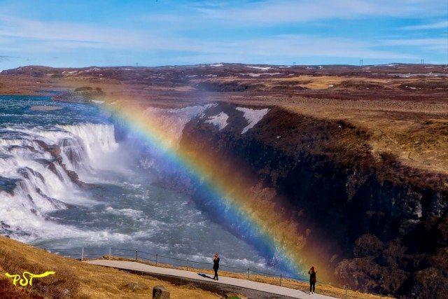 Gulfoss Golden Falls in Iceland