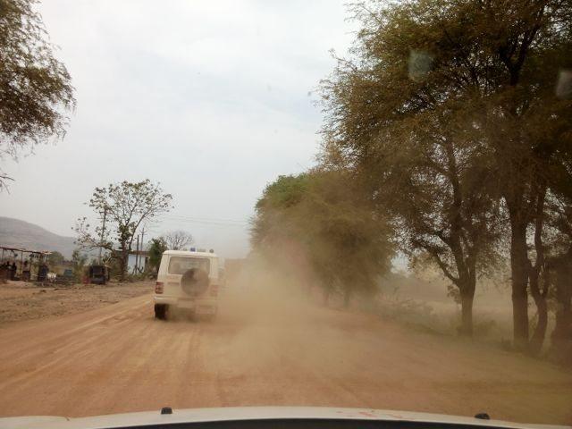 Road condition between Budhni- Hoshangabad NH69