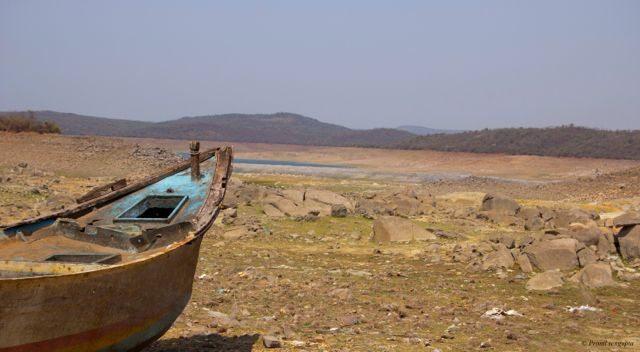 Hope for Monsoon First Glimpse of Nagarjuna Sagar