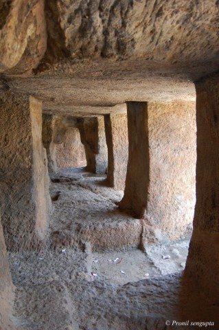 Caves interior
