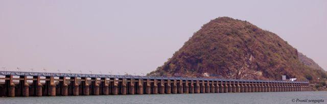 Prakash Barrage on River Krishna