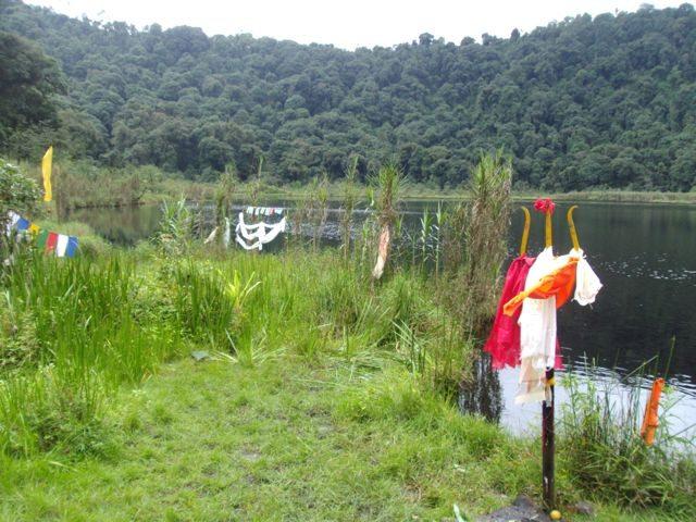 A Trishul in the Lake