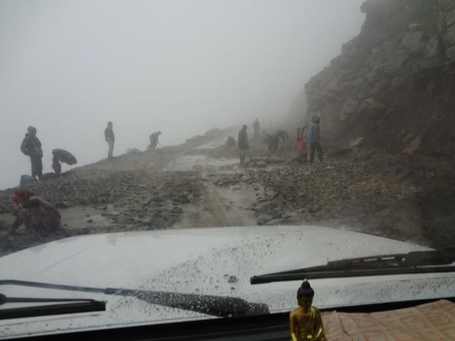 Near Rohtang top