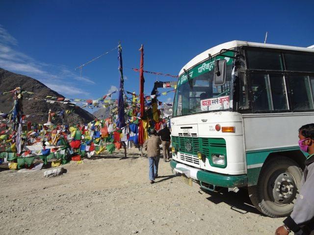 Temple at Kunzum pass