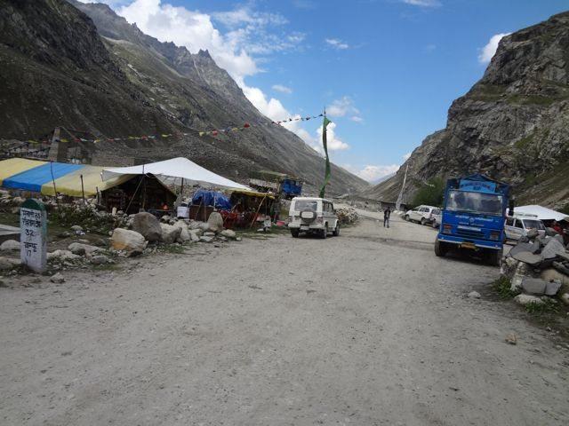 Chhatru village with population of 20
