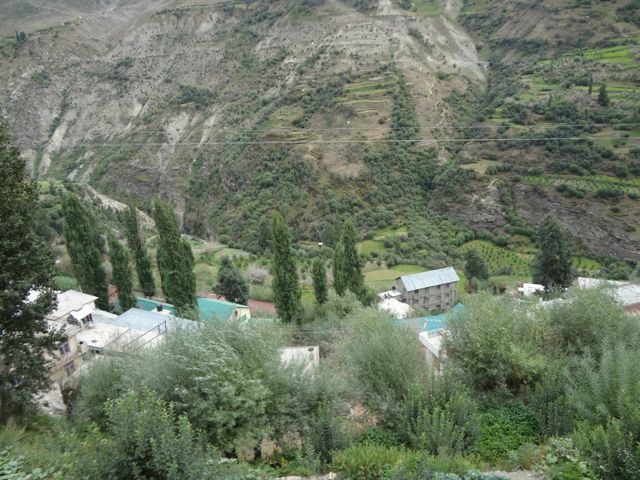 A prosperous village in Lahaul valley