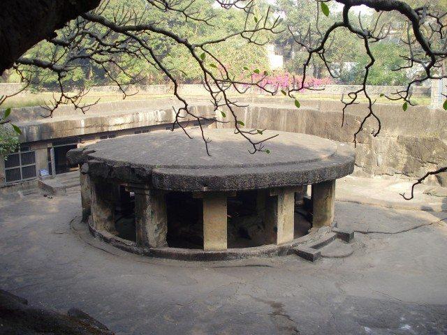 Pataleshwar - Circular structure