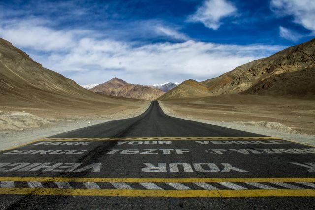 magnetic hill-ladakh
