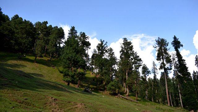 Beautiful Landscape on the way to Baisaran