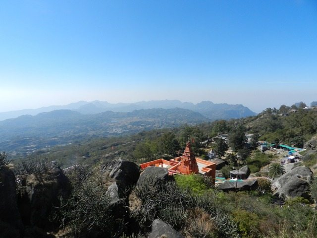 A view from Guru Shikhar