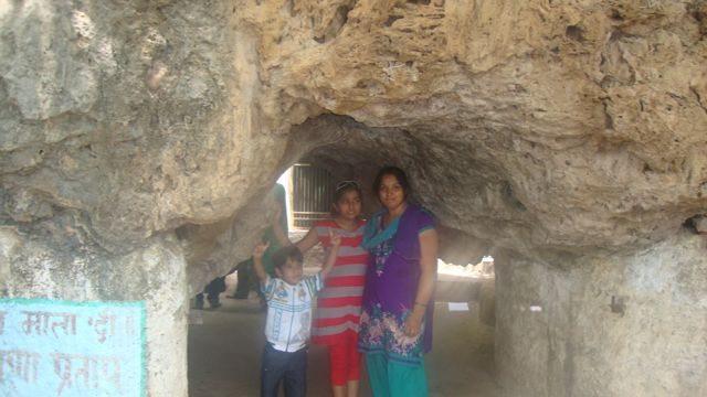 Cave near Rameshwar Temple