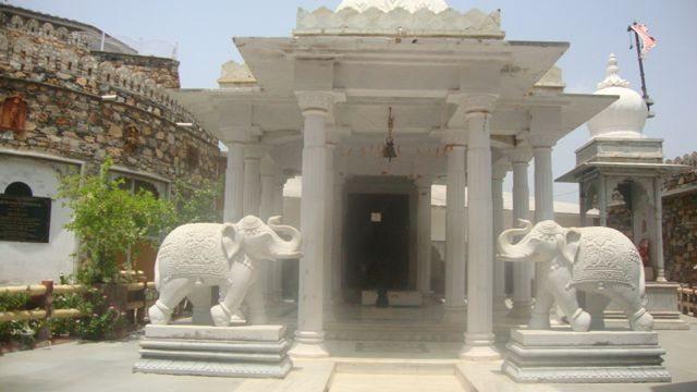 Temple at Haldi Ghatti Museum