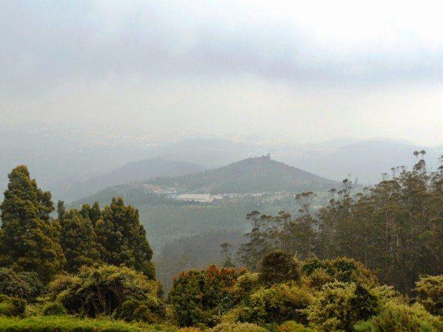 View from Doddabetta peak