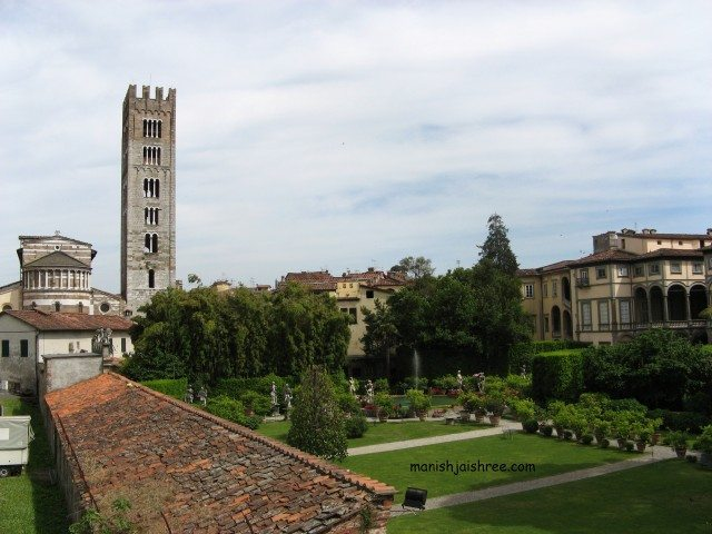 Bell Tower, Duomo di Lucca, Tuscany, Italy