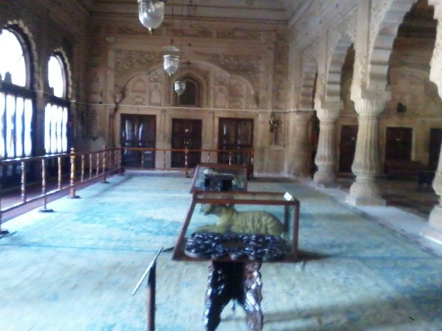 Inside view of Gopal Bhawan
