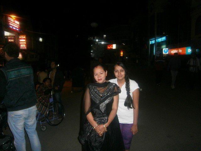 शिमला रात में.....
