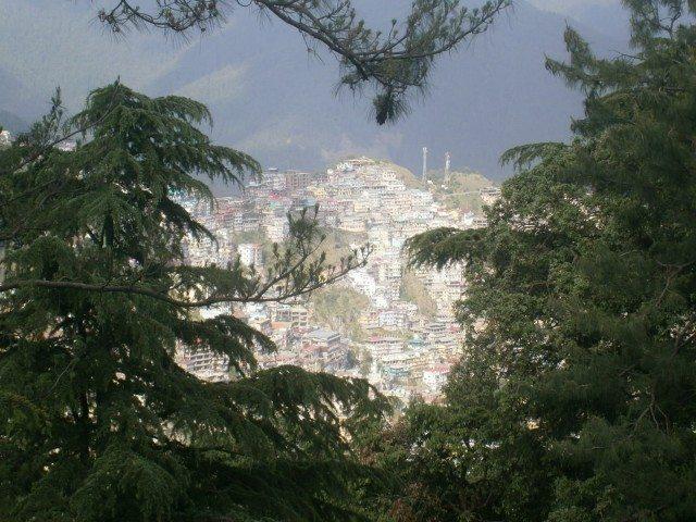 जाखु मंदिर से शिमला के नज़ारे