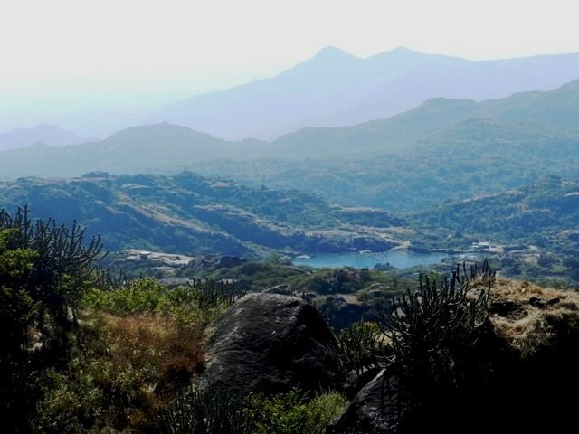 Panaromic View of Mount Abu