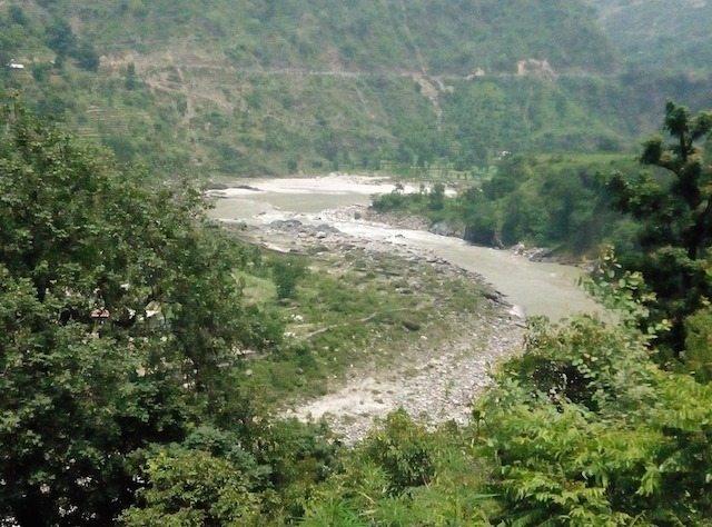 A view before Pandoh Dam