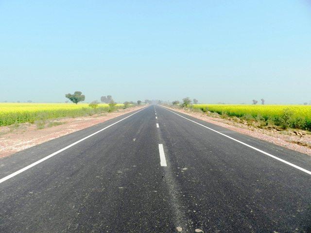 Road Bharatpur-Deeg