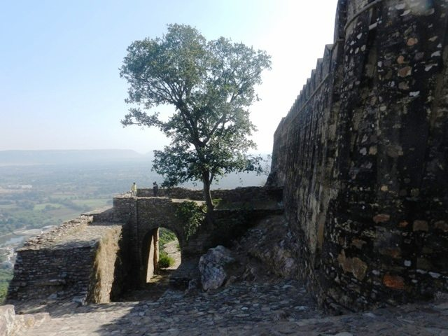 Ruins of original Main Entrance