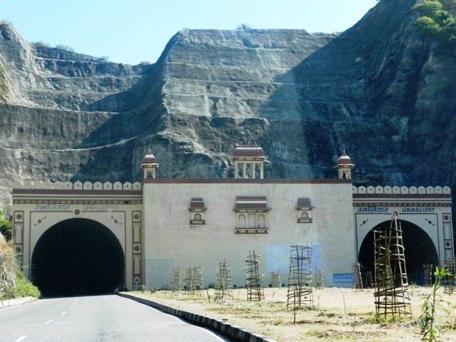 Tunnel on way to Chittorgarh