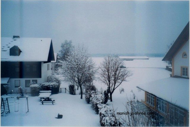 Place of Stay at Suburb of Munich, Germany, 2004