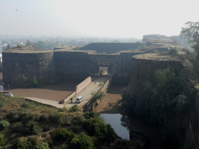 View inside Deeg-Fort