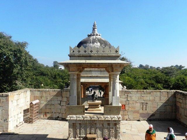 Vishnu Temple Premise
