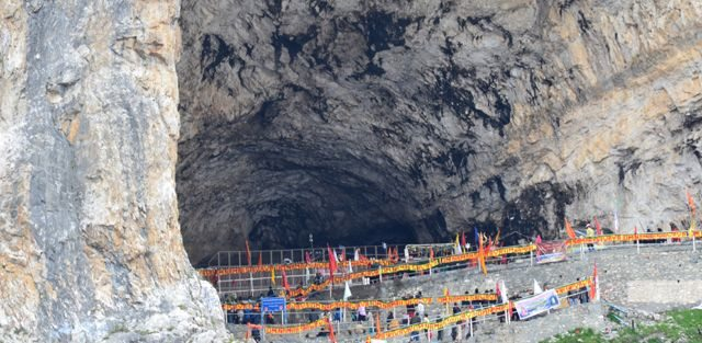 The Holy Cave of Amarnath