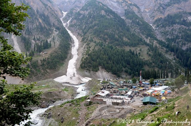 Below is Domail check gate near Baltal