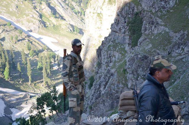 Vigilant Indian Army