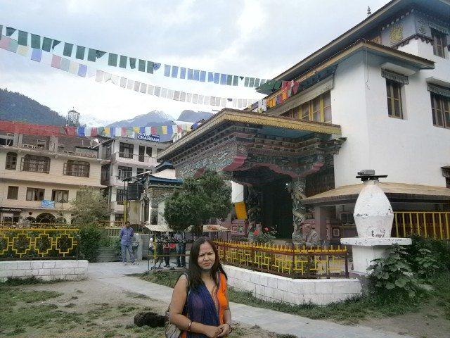 बौद्ध मठ मनाली..
