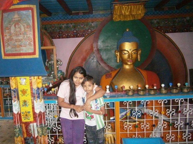 बुद्ध मंदिर प्रतिमा