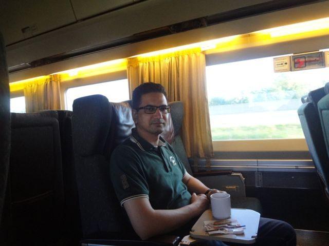 Inside of Via Rail