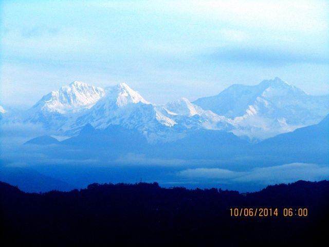Kanchendzonga from balcony