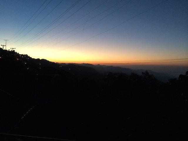 Hill morning