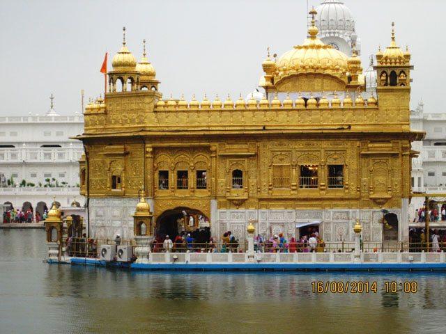 Sri Harminder Sahab- close view