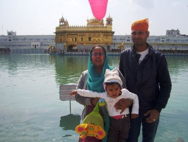 We are at Golden Temple